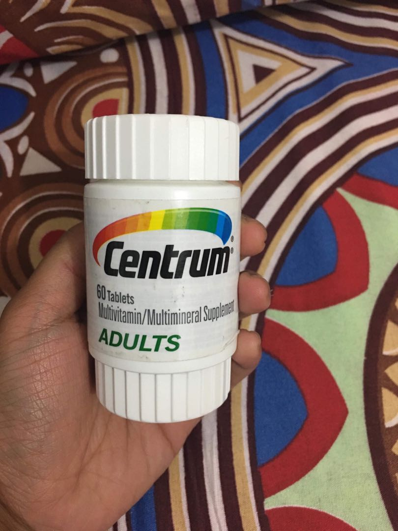 CENTRUM MULTIVITAMINS for ADULTS