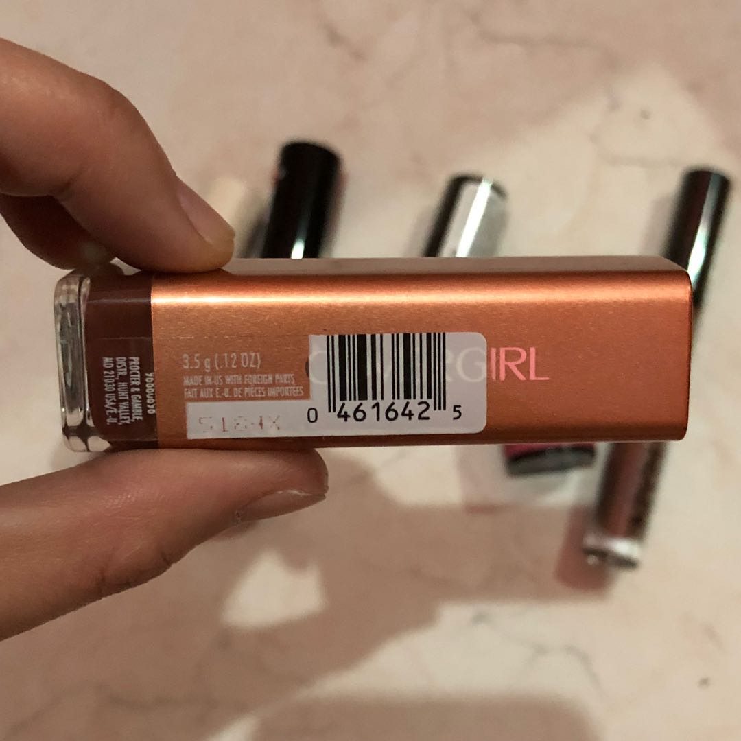 COVER GIRL LIPSTICK : COFFEE CRAVE