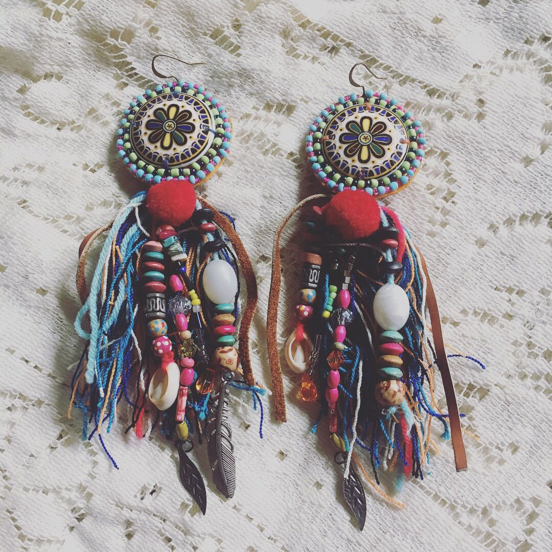 Eclectic Tribal Earrings