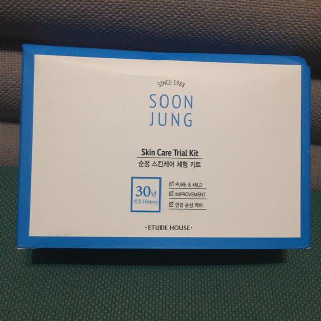 ETUDE HOUSE韓國保養品4件組/旅行用化妝水乳液等