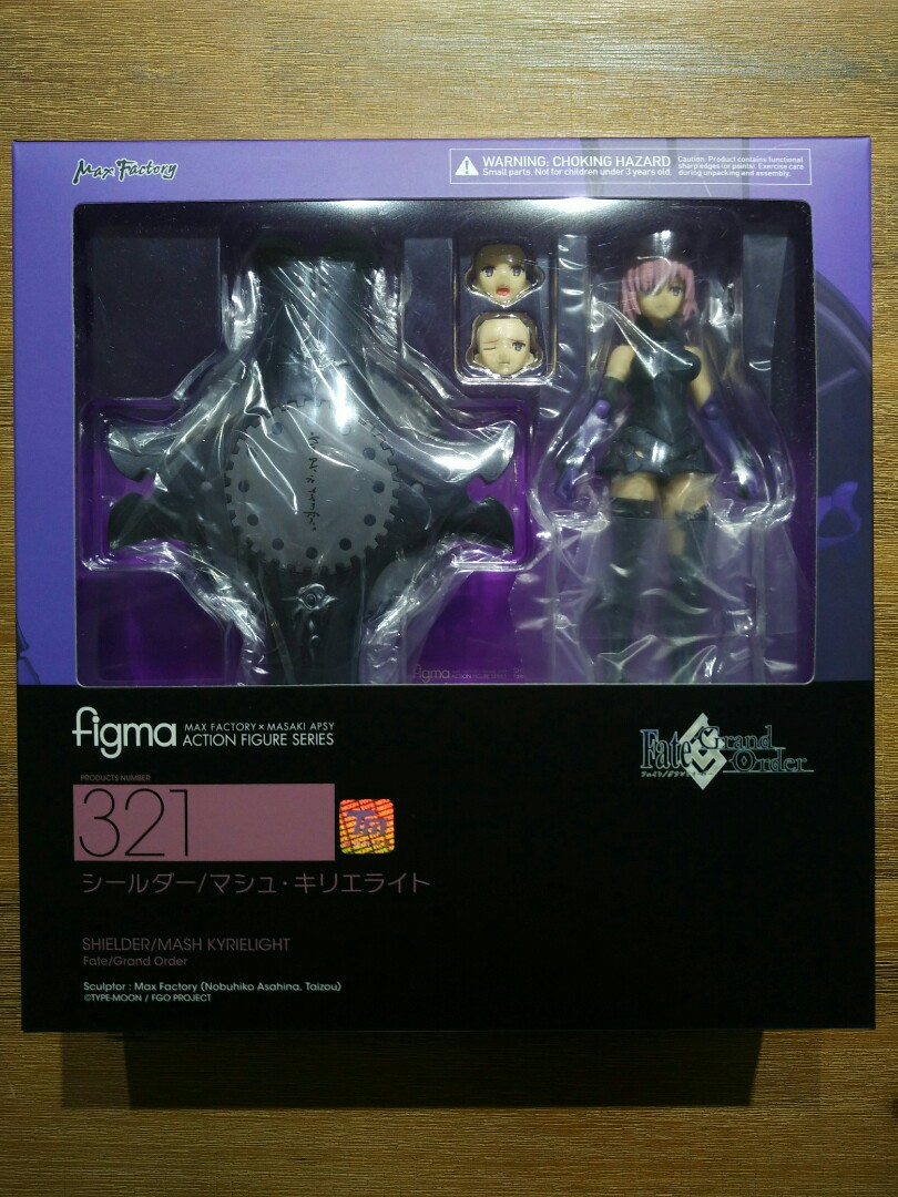 NEW figma 321 Fate//Grand Order SHIELDER//MASH KYRIELIGHT ActionFigure Max Factory