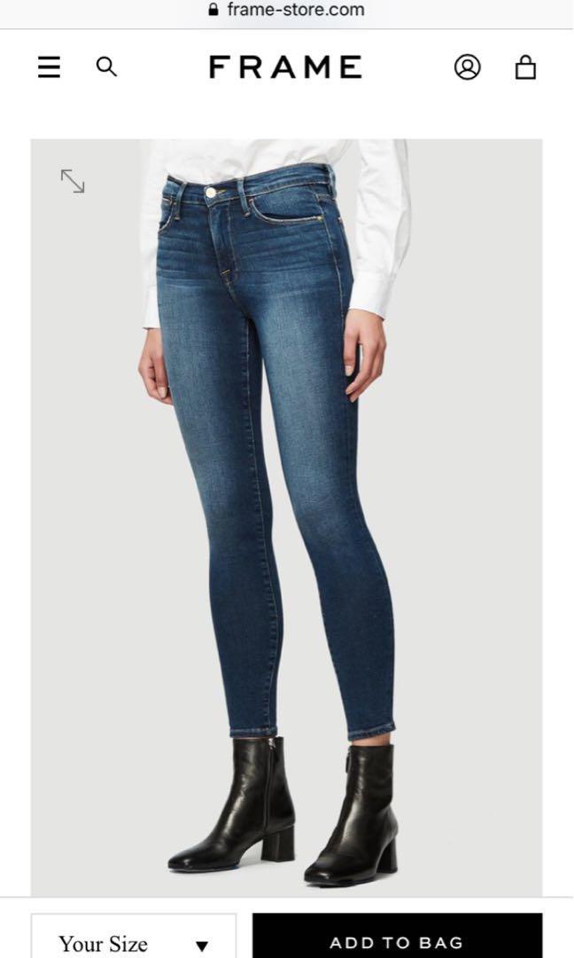 Frame Le Skinny Jeans Aritzia