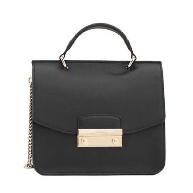 Furla Saffiano Top Handle crossbody bag