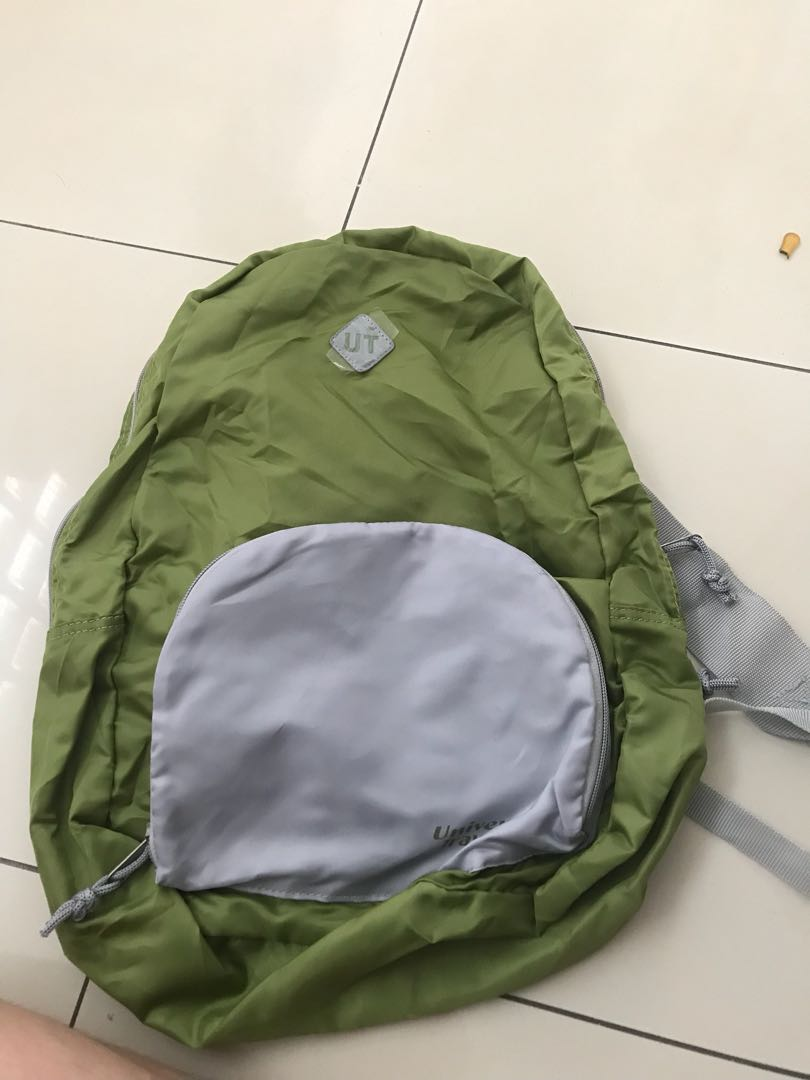 green backpack (super light!)
