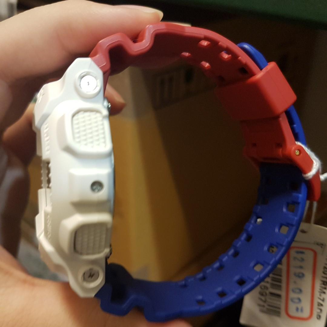 Casio G Shock Ga 120trm 7a White Mens Watch Daftar Harga Terkini 201tr 7adr Jam Tangan Pria Resin Gshock