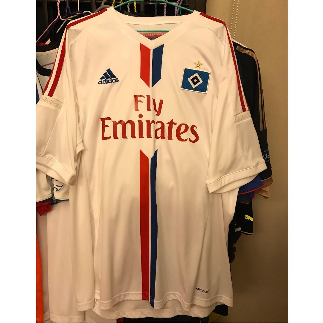 HAMBURGER SV ADIDAS Originals Football Shirt (Size M) Bnwt