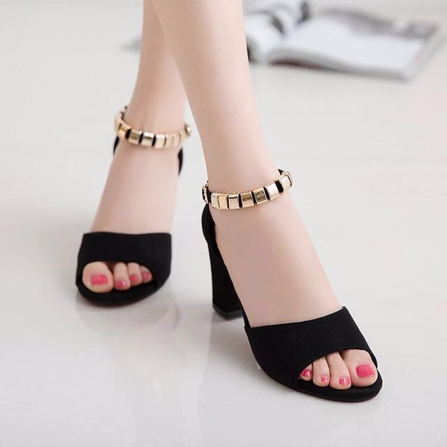 55a169fd1c28 High heel Shoes  formal work office  elegant classy  Korean kpop ...
