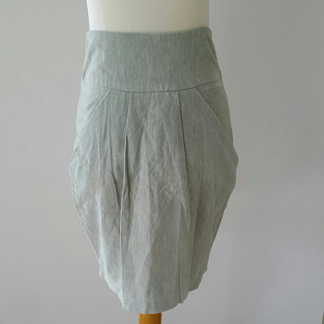 High waisted skirt rok
