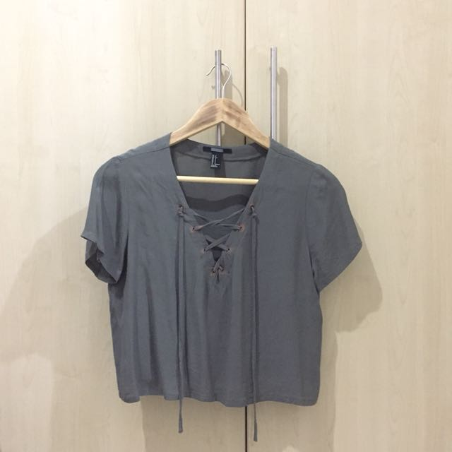 H&M Criss Cross Tee Top
