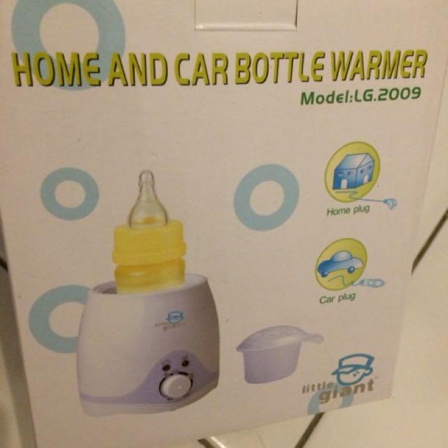 Home and Car Bottle warmer/Penghangat Makanan dan Minuman Bayi