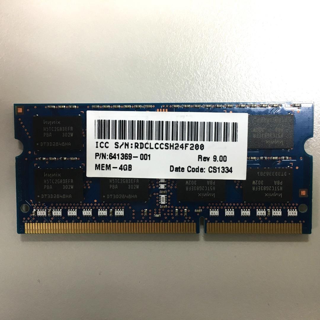 hynix 4GB 2Rx8 PC3L-12800S-11-12-F3 DDR3L