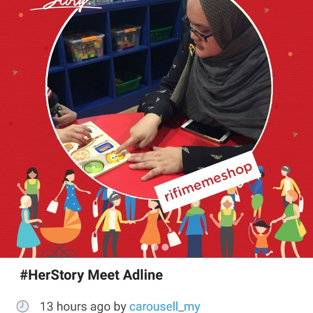 I'm featured for IWD! Tq Carousell