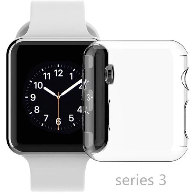 super popular 09173 0cefd -instock- JANSIN Apple iwatch series 3 case + front