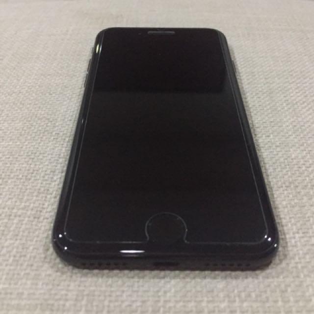 IPHONE 7 128GB JET BLACK (LOCK ICLOUD)