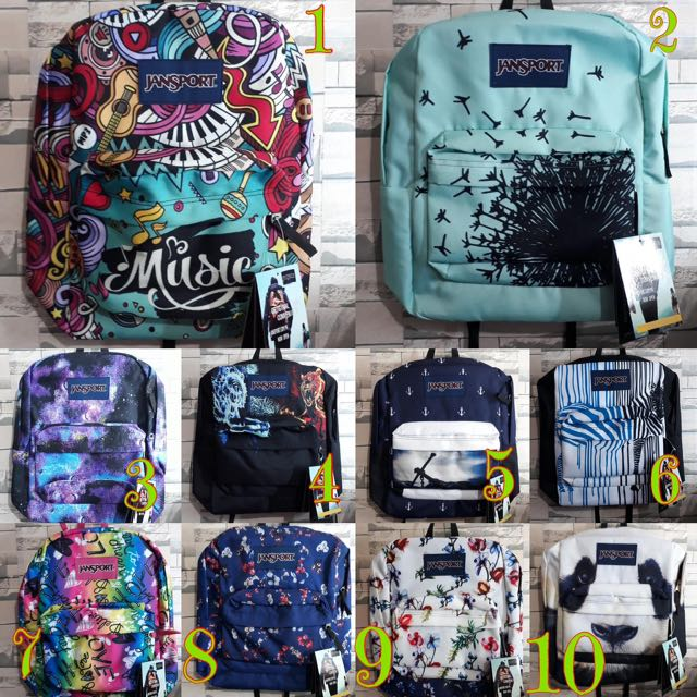 Jansport Limited Prints