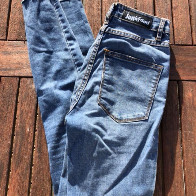 Junk food jeans