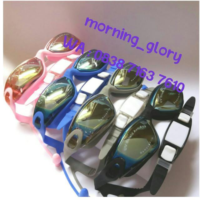 Kacamata Renang/Goggles Anti Fog & UV SPEEDO 866