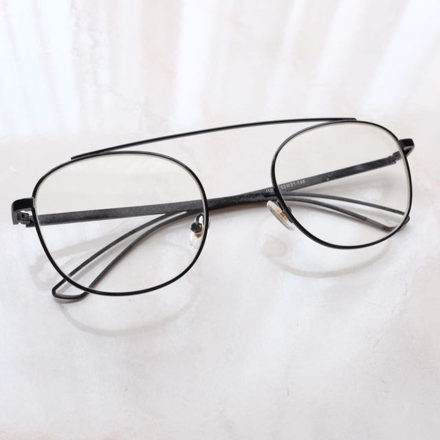 Kacamata Wanita / Woman's Hip Nerd Clear Glasses
