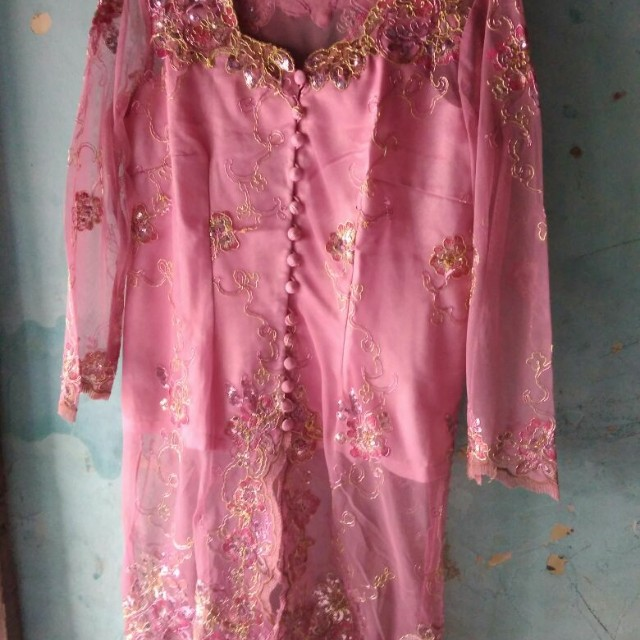 Kebaya pink fit to xl freeong jabodetabek