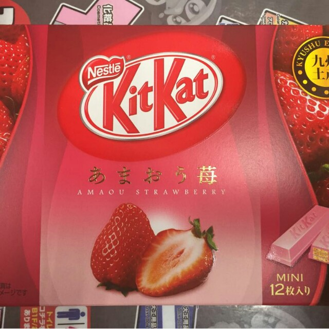 Kitkat Strawberry From Jepang