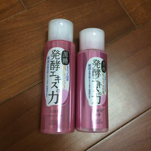 全新Kose乳液+化妝水