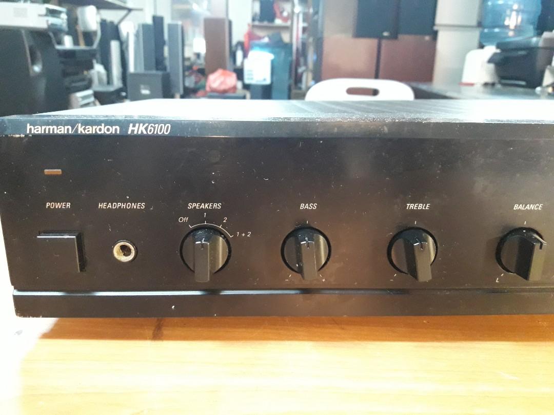 Ku harmon kardon stereo amp