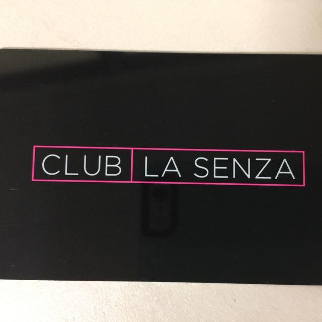 La Senza Membership Card