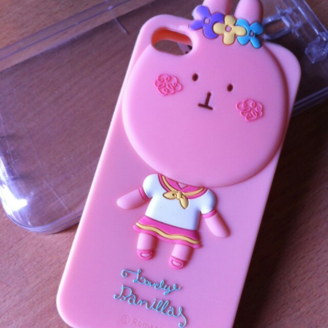 Lovely Banillas Softcase for Iphone 4/4S