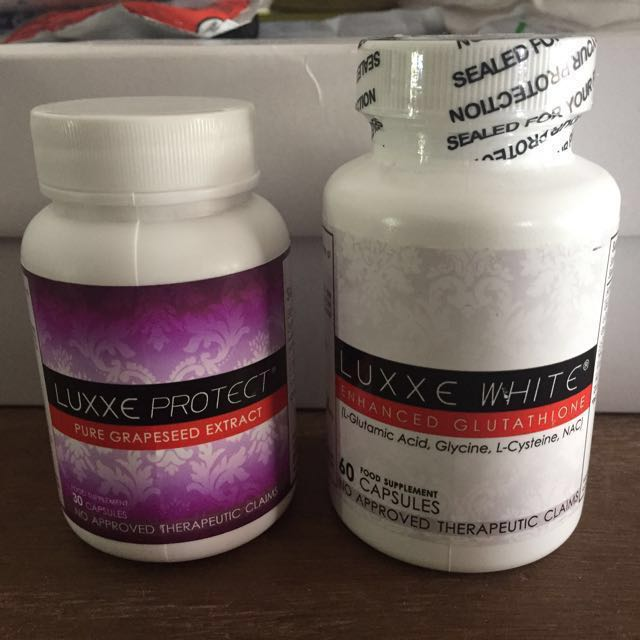 Luxxe White and Luxxe Protect on Carousell