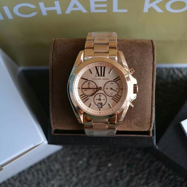 31ebf26c4044 Michael Kors Oversized Bradshaw Rosegold-Tone Watch (MK5503)