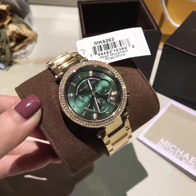 ff3b7f9d61e7 🆕Michael Kors Parker Gold Tone Watch