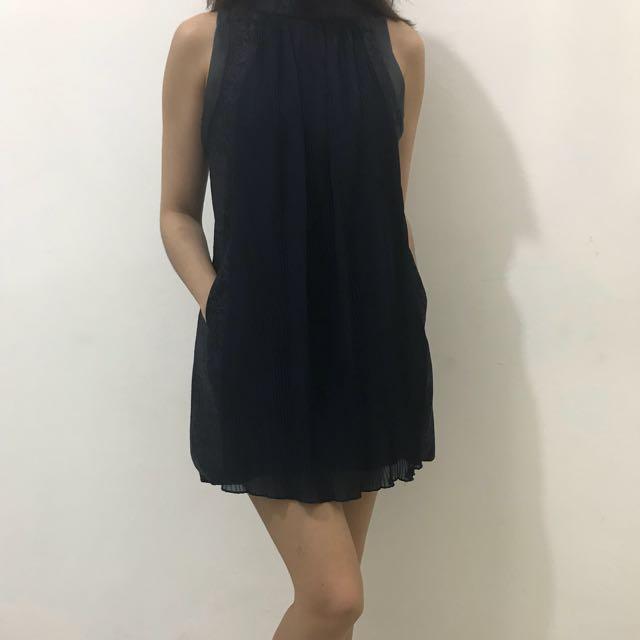 Mini dress nevy blue