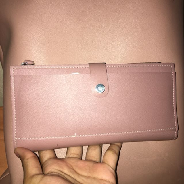 Miniso pink wallets