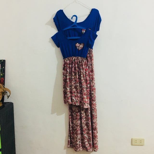 Mom & Daughter Terno Dress