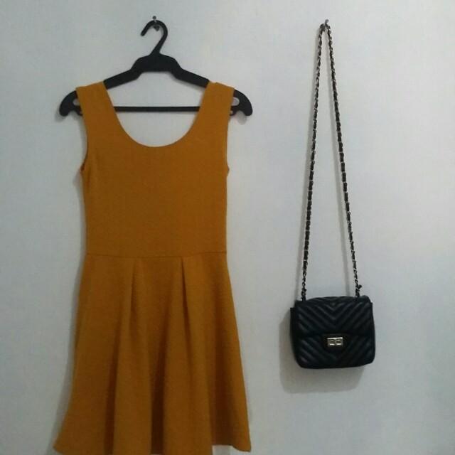 Mustard Dress