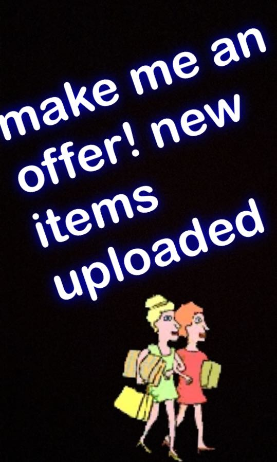 NEW ITEMS ADDED!!!!