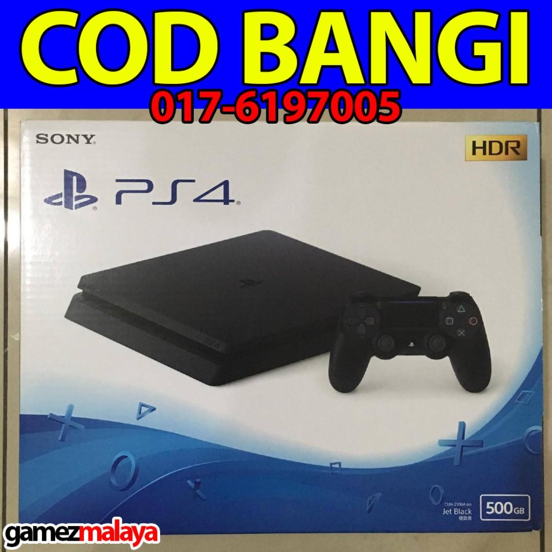 Playstation 4 Slim 500gb Cuh 2006a B01 Jet Black God Of War Iii Reg Sony Console Ps4 Player Colour
