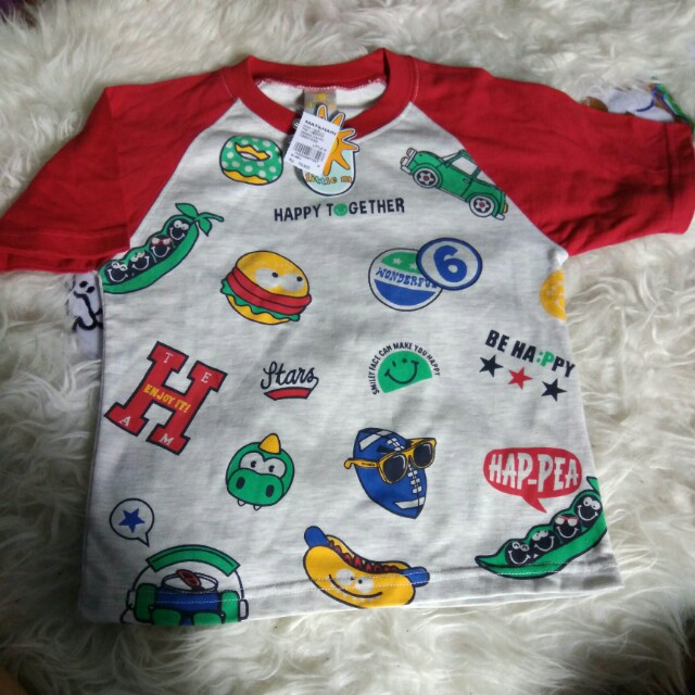 New T Shirt Raglan Little M