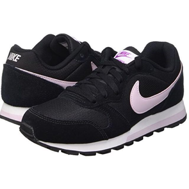 Nike MD Runner 2 - Black & Pastel Pink