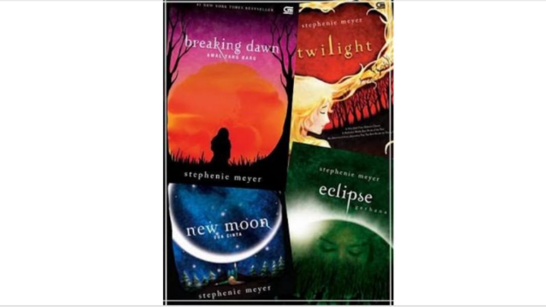 Novel twilight saga komplit 4 buku ebook