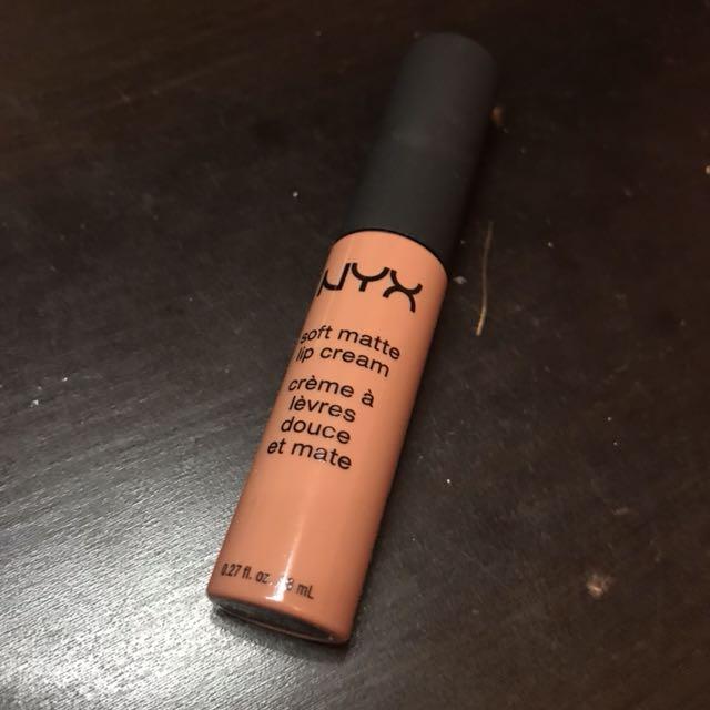NYX Soft Matte Lip Cream in 'Abu Dhabi'