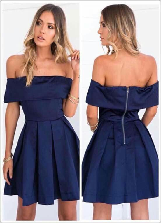 Offshoulder Dress (cotton)