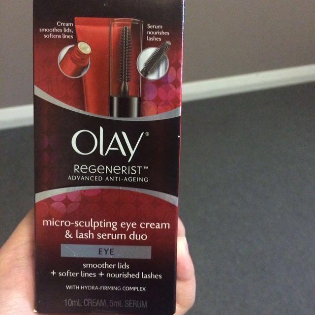 Olay Eye Cream&Lash Serum Duo