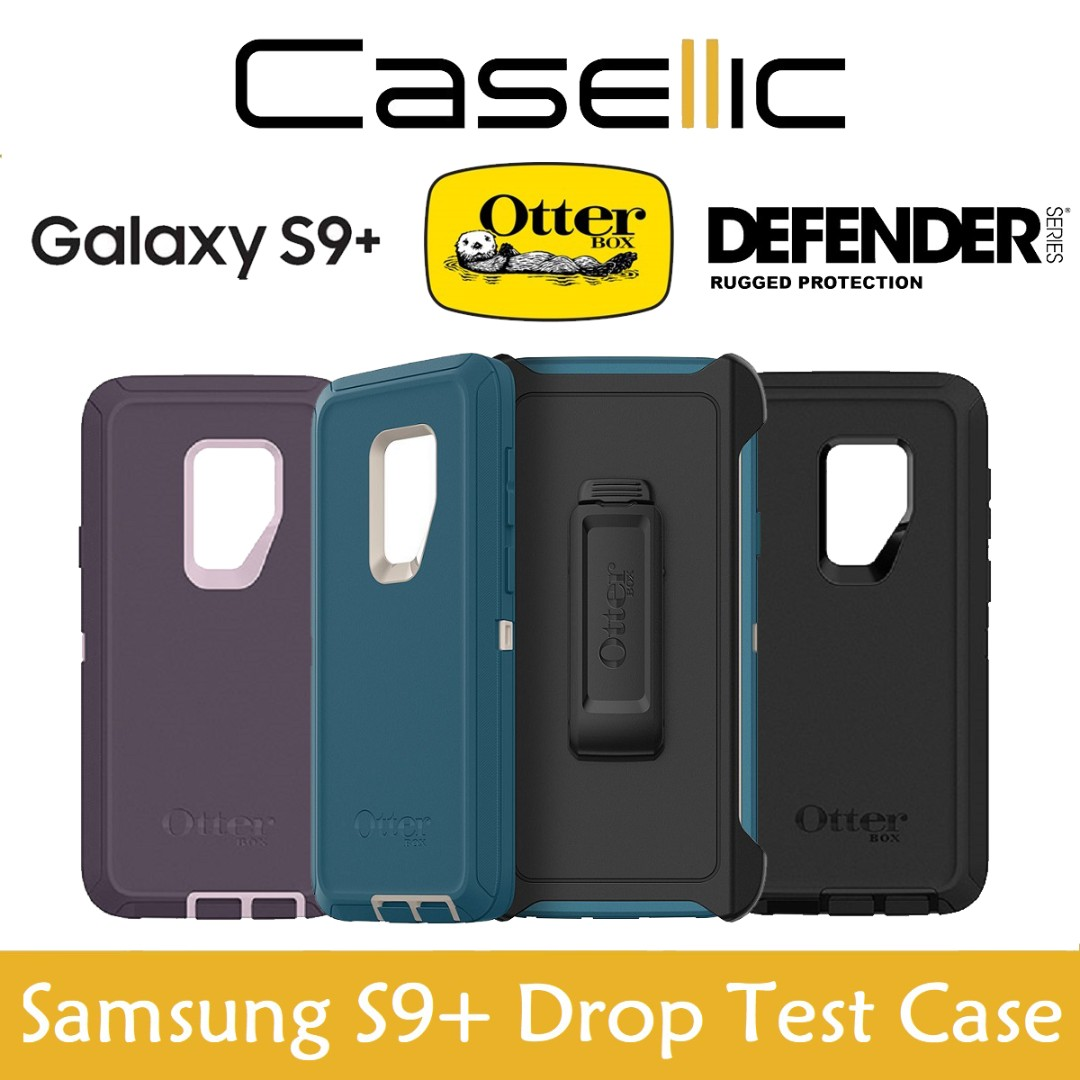best loved 168ae 845a3 OtterBox Samsung Galaxy S9+ S9 Plus Defender Series