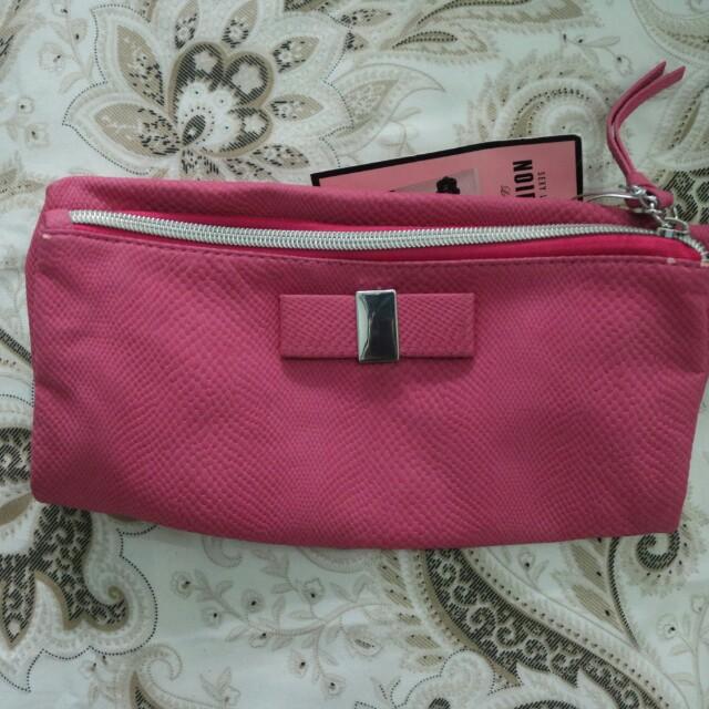 Pink Ribbon Clutch