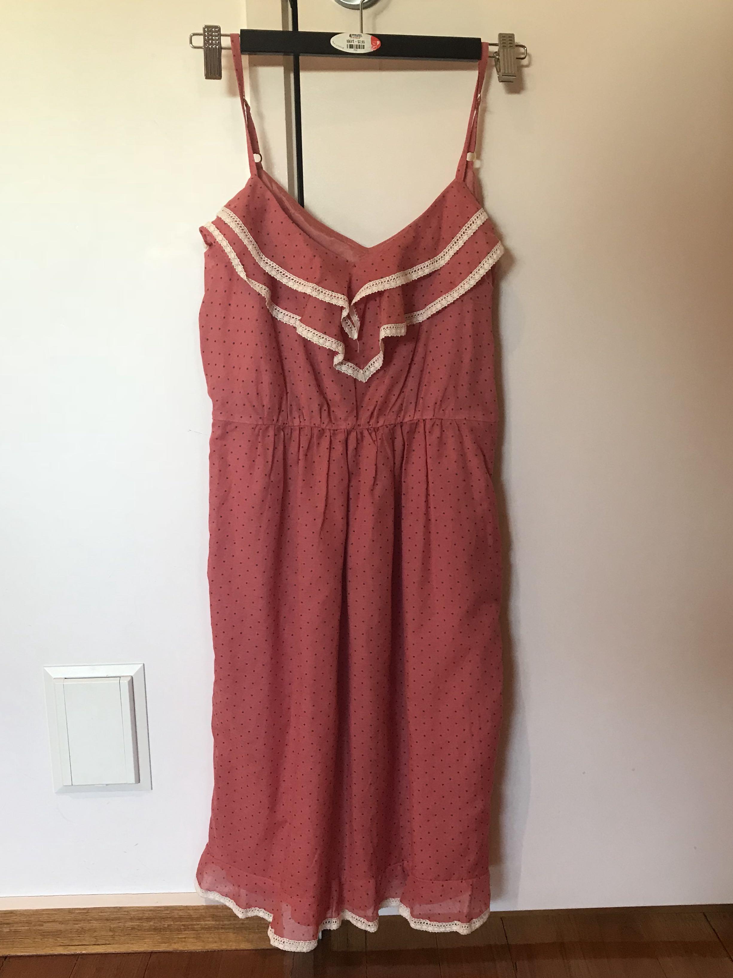 Pink Spotty Zimmermann Dress