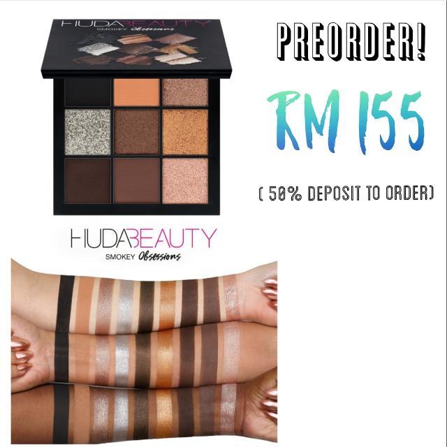 (PREORDER) Huda Beauty Smokey Obsessions Palette