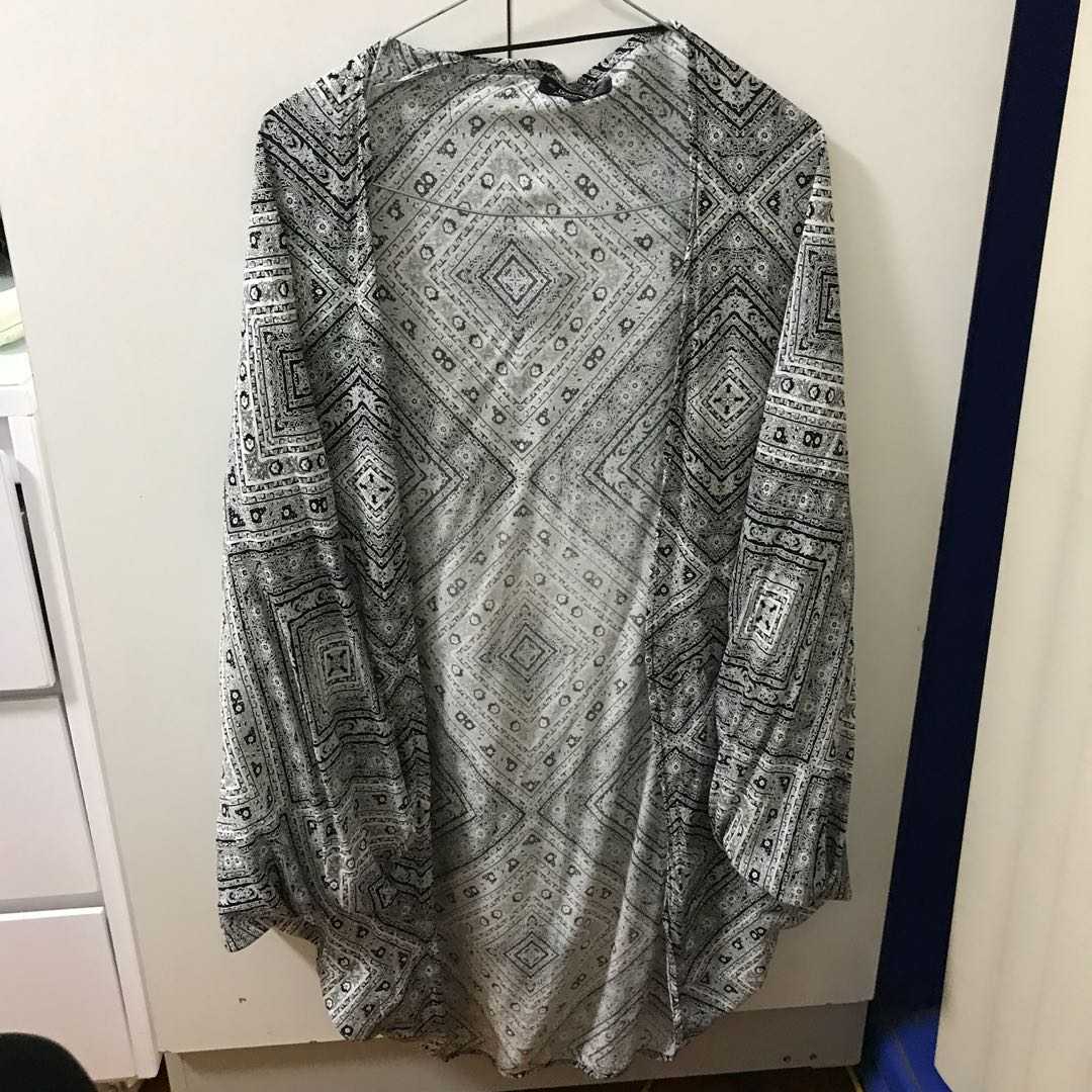 Printed kimono - COTTON ON