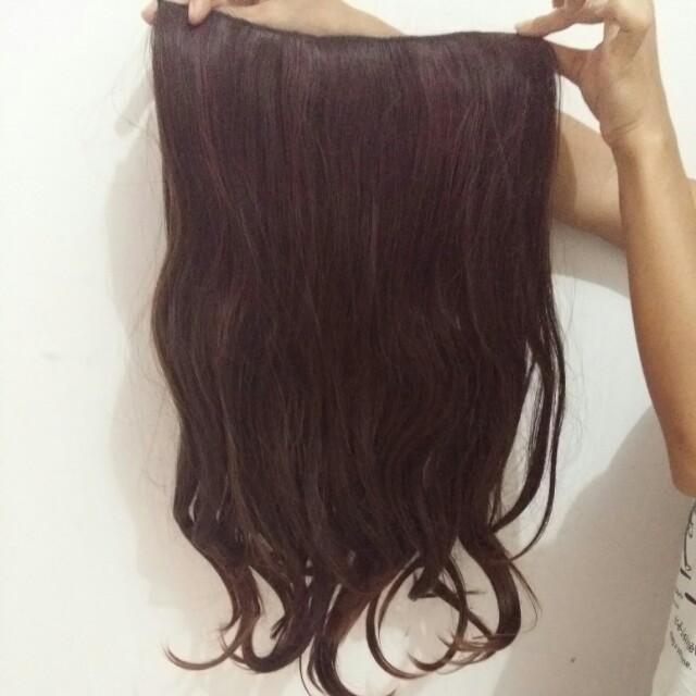Rambut palsu big layer