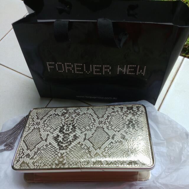 REPRICE Forever New Party Clutch